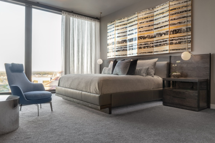 Fall In Love With This Contemporary Penthouse in California
